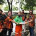 Di Tengah Pandemi Covid-19, SAPMA Pemuda Pancasila Berbagi Beras dan Masker Wujud Implementasi Pancasila