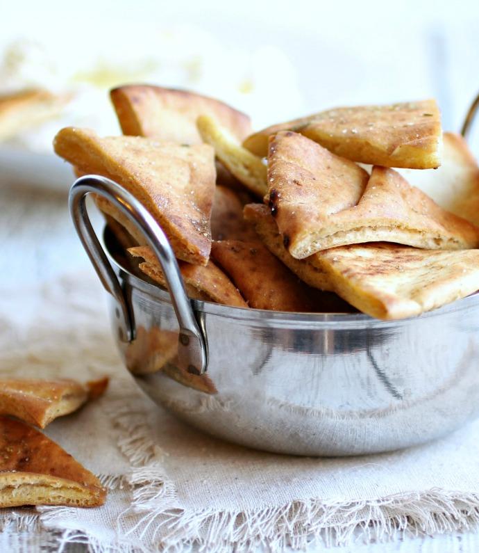 Zaatar Pita Chips