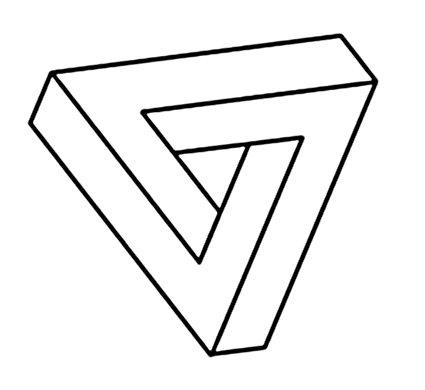 D E C E P T O L O G Y: An optical illusion alphabet