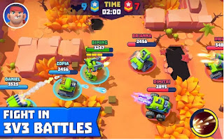 Tanks A Lot! - Realtime Multiplayer Battle Arena Mod Apk for Android