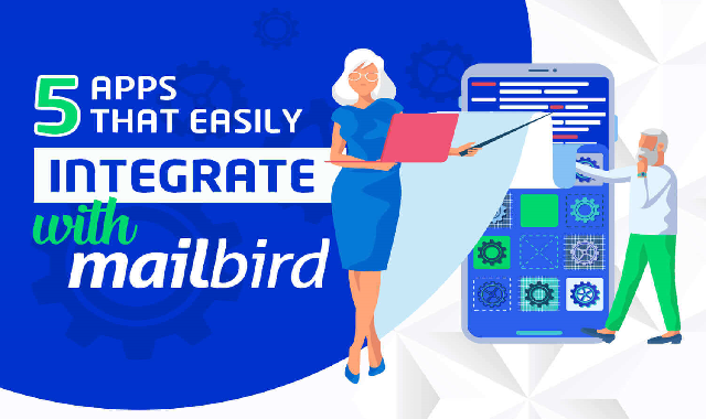 5 Apps That Easily Integrate With Mailbird #infographic