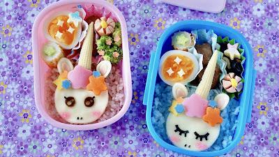 Unicorn Bento Lunch Box Recipe