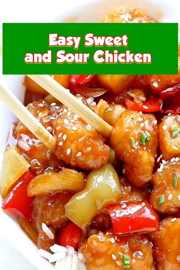 #Easy #Sweet #and #Sour #Chicken