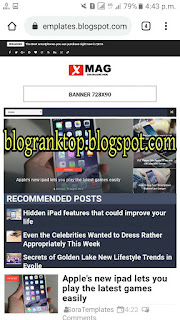 Download XMag Premium Blogger Template, Without Footer Credit