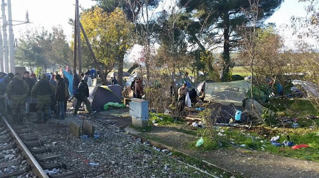 Ναρκωτικά, πορvεία και trafficκing στην Ειδομένη