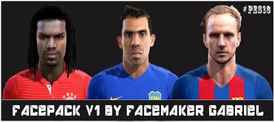 PES 2013 Facepack V1 by Facemaker Gabriel