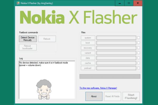 Cara Flash Nokia X RM-980 dengan Nokia X Flasher Tanpa Box Tested