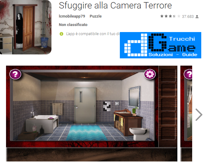 Soluzioni Escape The Terror Room livello  1  2  3  4  5  6  7  8  9 10 | Trucchi e  Walkthrough level