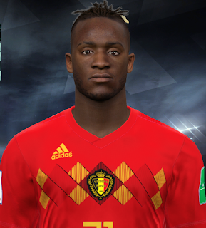 PES 2017 Faces Michy Batshuayi by Facemaker Huseyn
