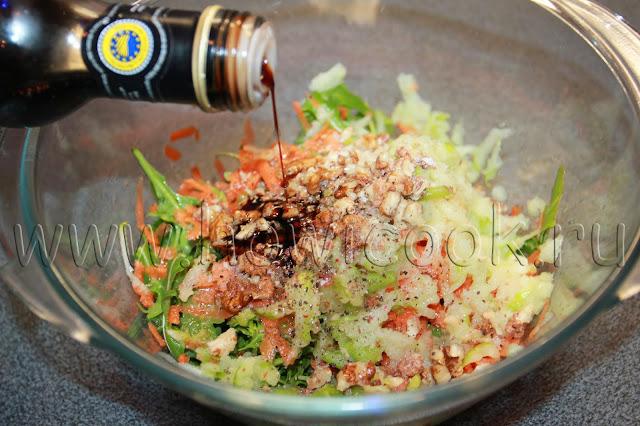 рецепт салата из моркови и яблок от высоцкой