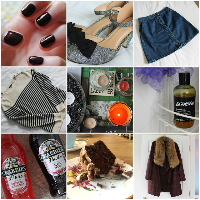 September Favourites feat. clothes, shoes, lush, candles, cake, crabbies