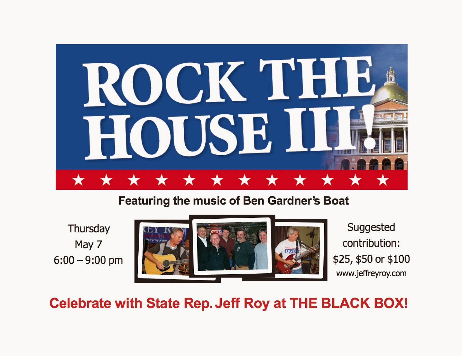 Rock the House III - May 7 at THE BLACK BOX