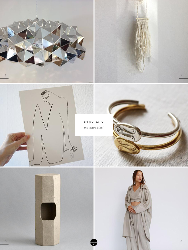 Etsy Mix curated by Eleni Psyllaki for My Paradissi. Best of Etsy finds