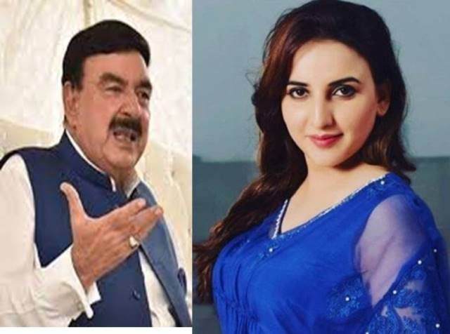 Sheikh Rasheed didn't get married because of me, Hareem Shah