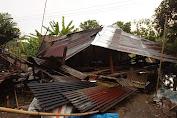 BPBD Serdang Begadai Data Kerusakan Bencana Angin Kencang
