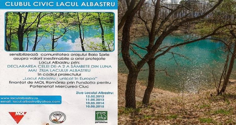 Program Lacul Albastru și activități