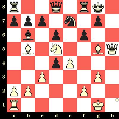 Les Blancs jouent et matent en 4 coups - Siegbert Tarrasch vs Jean Taubenhaus, Nuremberg, 1892