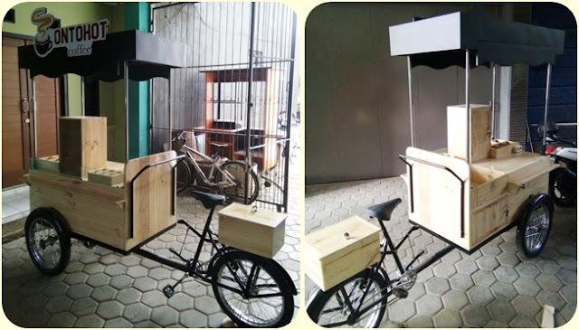 Jasa pembuatan gerobak sepeda,gerobak sepeda vintage