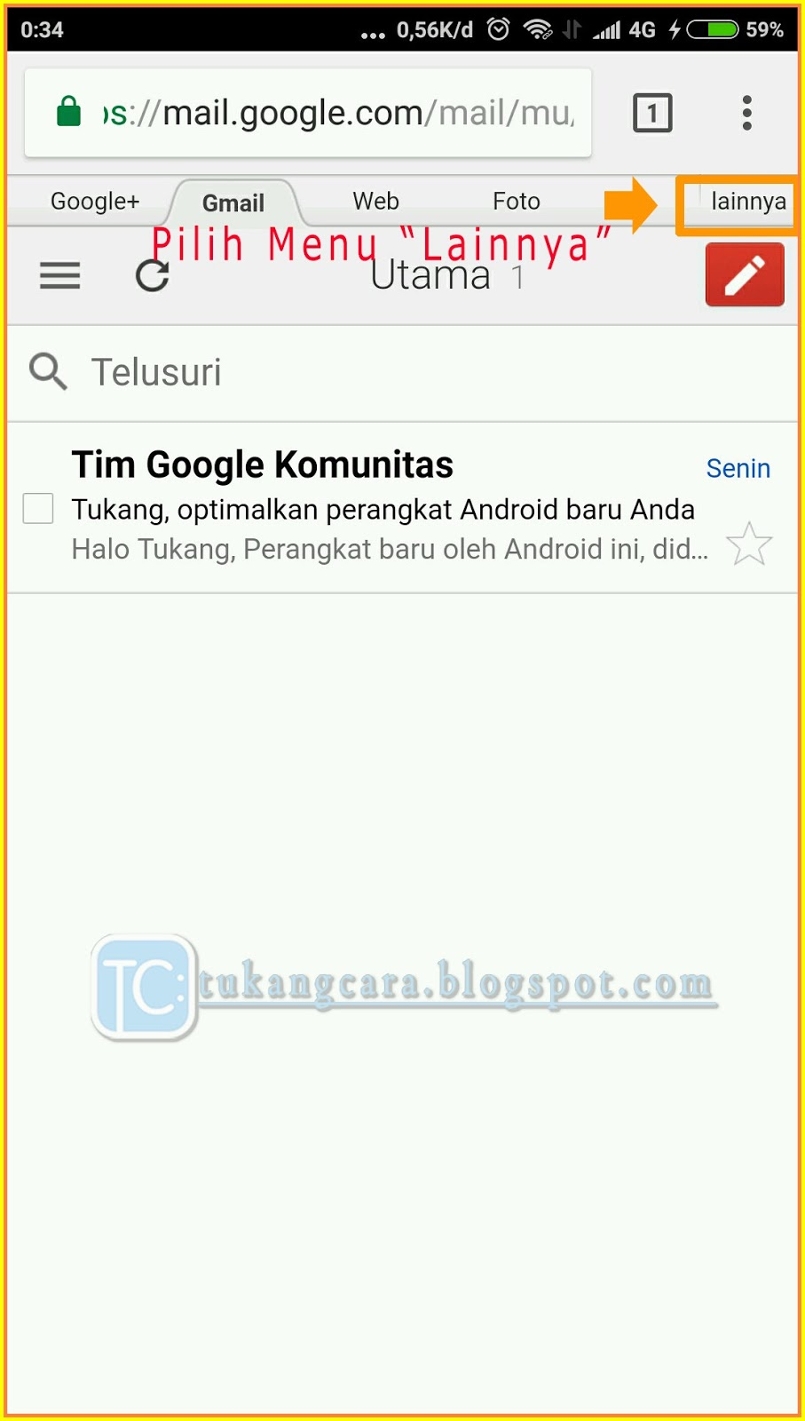 Ganti Sandi Gmail Lewat HP - Cara Ganti Kata Sandi Akun ...