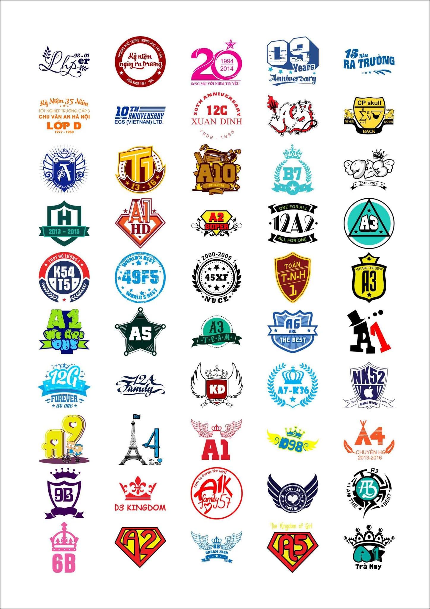 Mẫu logo in áo nhóm đẹp 2021 - Hình 3