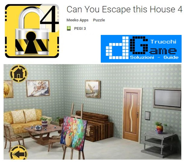Soluzioni Can You Escape this House 4 di tutti i livelli