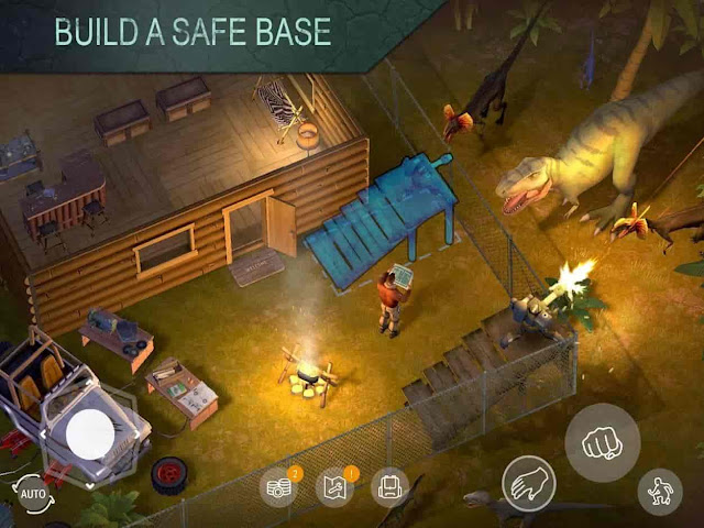 Jurassic Survival V2.5.0 MOD APK – MEGA HİLELİ