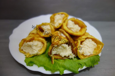 Rożki omletowe