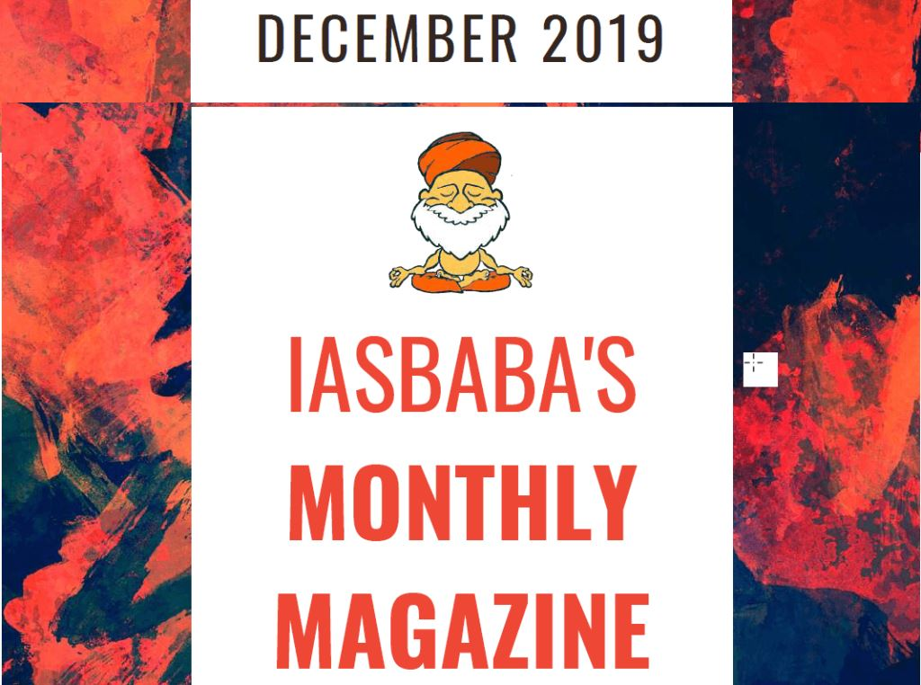 iasbaba Current Affairs December 2019