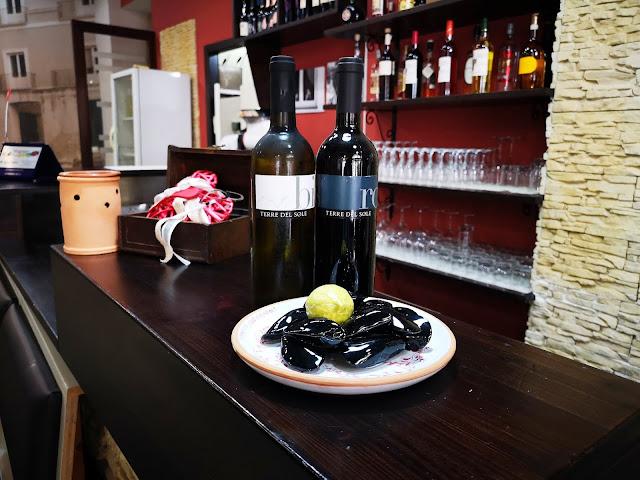 bottiglie di vino Terre del Sole