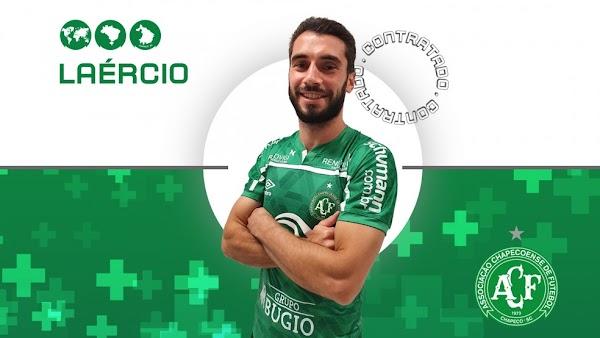 Oficial: Chapecoense, firma Laércio