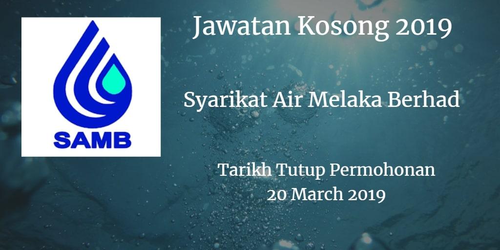 Jawatan Kosong SAMB 20 March 2019