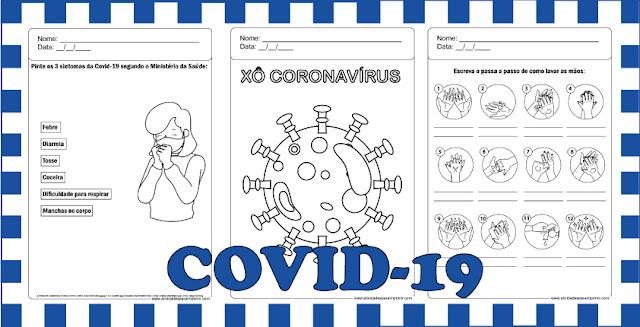 atividade coronavírus