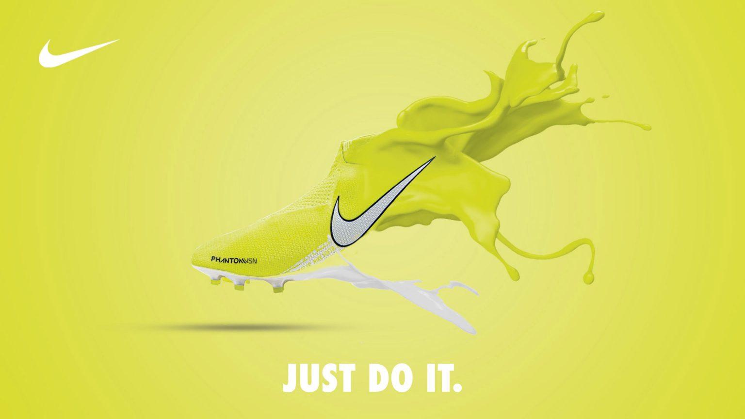 Thương hiệu đồ dùng thể thao Nike đã định và và tạo được tệp khách hàng trung thành với 1 slogan ấn tượng.