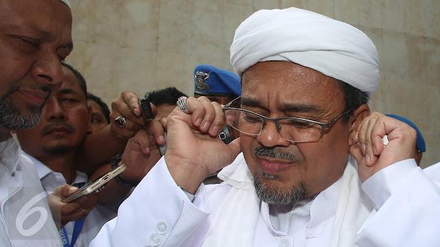 HEADLINE: Rizieq Shihab Tertutup soal Penelusuran Covid-19, Dapat Dikenai Sanksi Tegas?