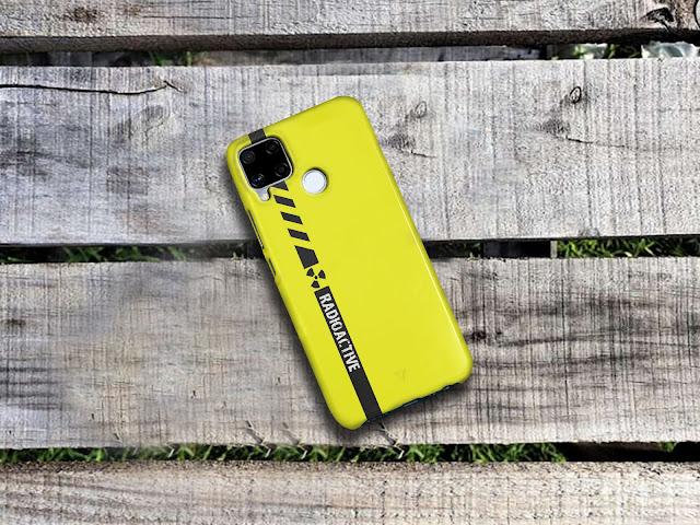 Mockup Custom Case 3D Realme C15 Gratis
