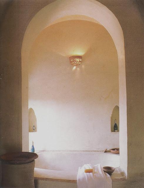 Arched Bath, image via Ultimate Bathroom Designs as seen on linenandlavender.net