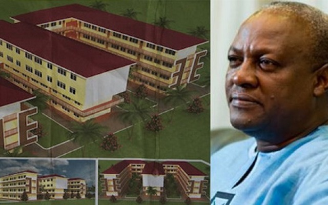 I can't build 200 community day Senior High Schools - Mahama