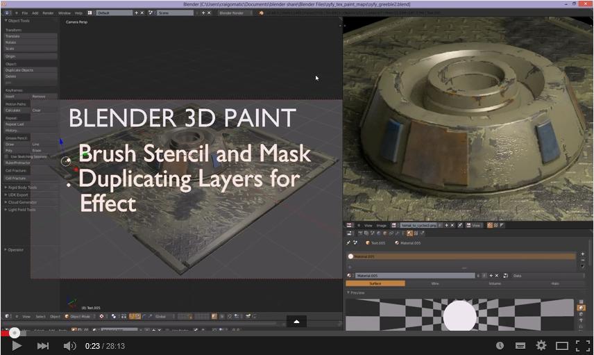 Blender 3d Paint Tutorial Part 4 Metaverse Tutorials