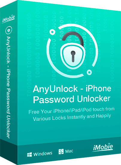 AnyUnlock: unlock your iPhone without password