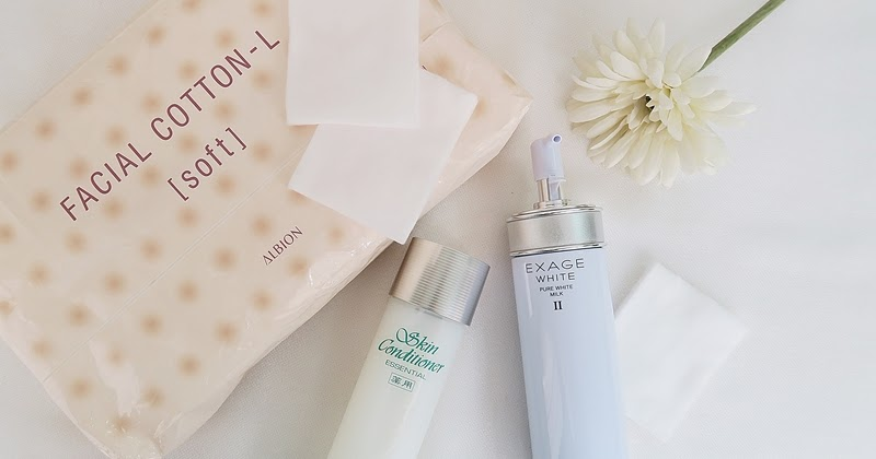Sunshine Kelly   Beauty . Fashion . Lifestyle . Travel . Fitness: Albion  Skin Conditioner Essential & Exage White Pure White Milk II