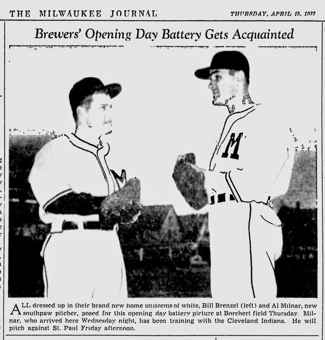 95acac65a8a If the Brewers were to wear 1937 uniforms