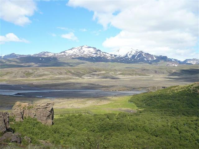 valle valahnukur vicino vulcano Eyjafjallajökull