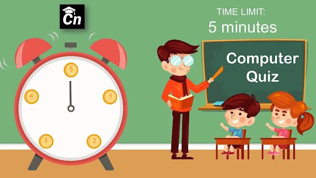 Computer Quiz, Careerneeti Logo, Time Limit 5 Minutes