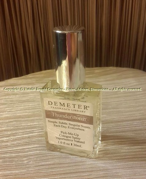 THUNDERSTORM AND WET GARDEN - DEMETER Fragrance Library, PERSONAL PERFUME REVIEW AND PHOTOS NATALIE BEAUTE
