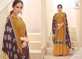 Alok Suits Manjula Pashmina Collection 2019 Latest