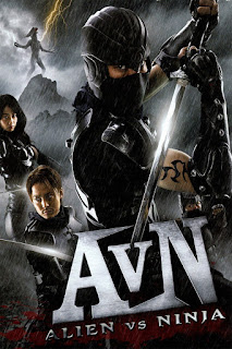 Alien vs Ninja 2010 Dual Audio 720p BluRay