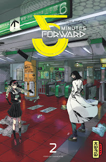 manga 5 minutes forward couverture du tome 2