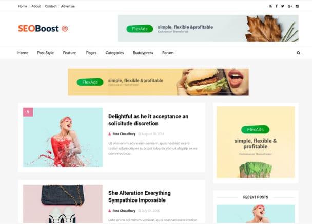 No. 9. Seo Boost-blogger-templates