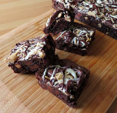 Triple Chocolate Fudge Brownies
