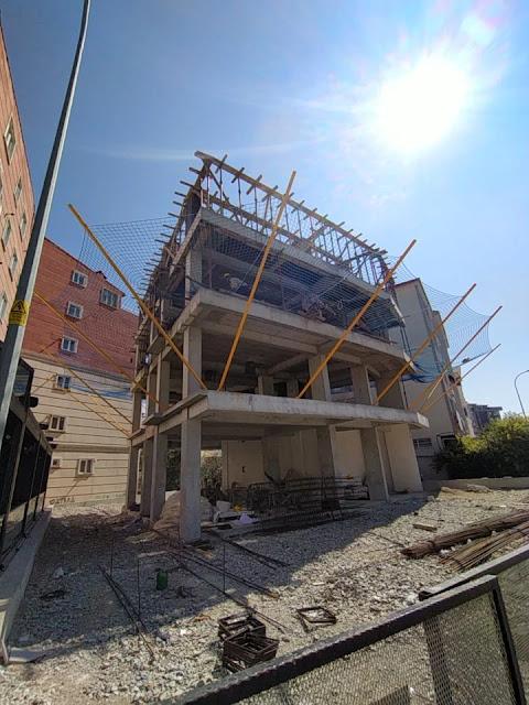 betonarme inşaat, bir binanın yapım aşamaları, kaba inşaat yapım aşamaları